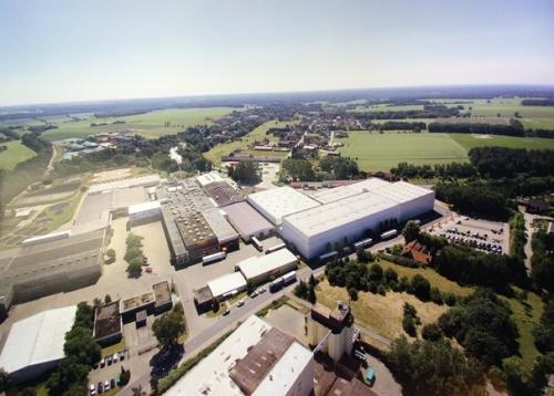 Ikego Hankensbüttel - Luftbild vom Werk